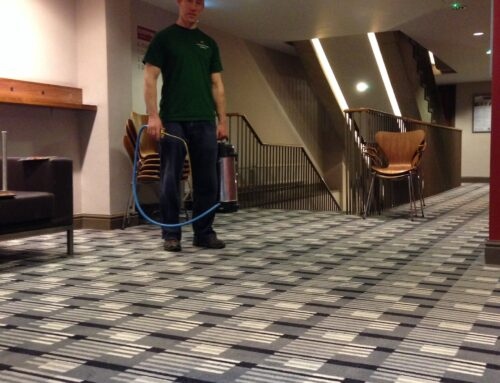 Contract commercial carpet cleaning in Cheltenham, Gloucestershire