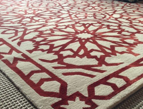 Carpet and rug spot stain cleaning